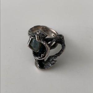 Vintage Peder Musse sterling silver ring